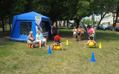 Letnie imprezy sportowo – rekreacyjne na osiedlach OSM