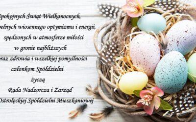 Życzenia Wielkanocne 2021